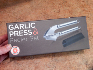 Alpha Grillers Garlic Press & Peeler Set