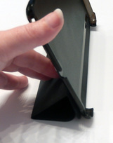 Vilesto iPad Mini Cover in the standing position
