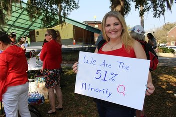A Day Without Women in St. Petersburg, FL